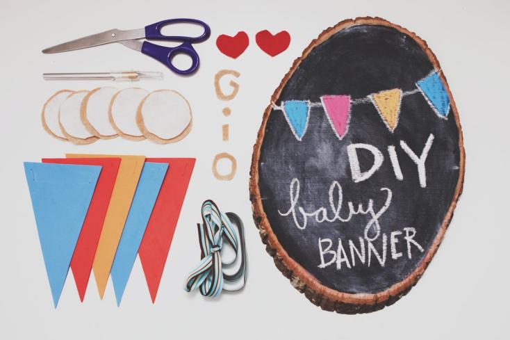 DIY Baby Banner
