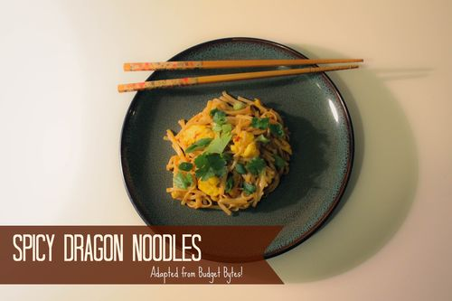 Spicy Dragon Noodles l Our Sweet Somewhere