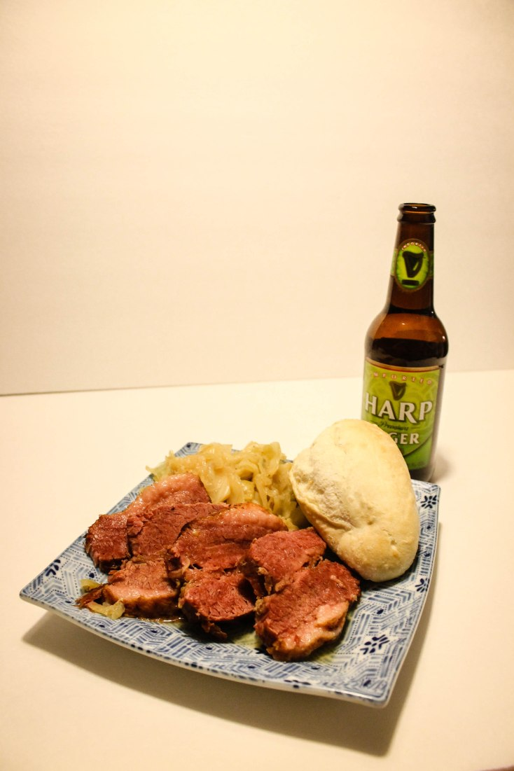 St Patrick's Day Corned Beef and Cabbage l Our Sweet Somewhere