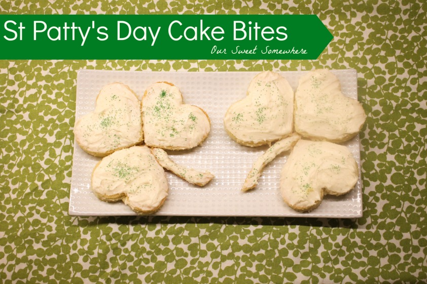 Saint Pattys Day Cake Bites l Our Sweet Somewhere-8