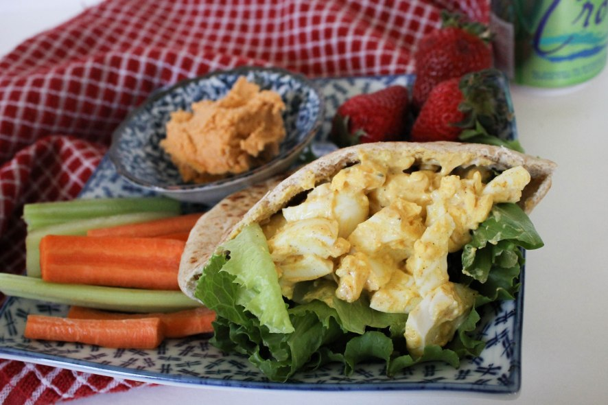 Curried Eater egg salad l Our Sweet Somewhere