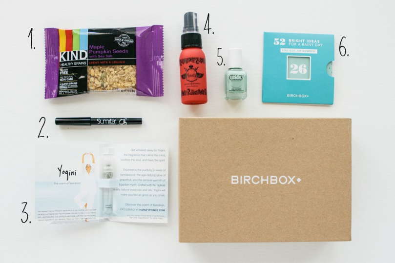 April 2014 Birchbox Review