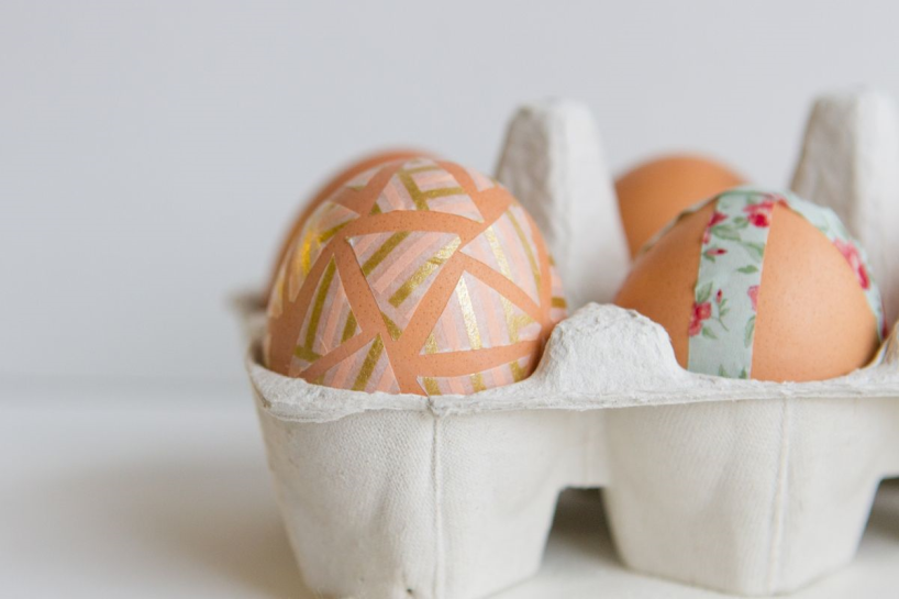 Washi Tape Easter Eggs | Our Sweet Somewhere