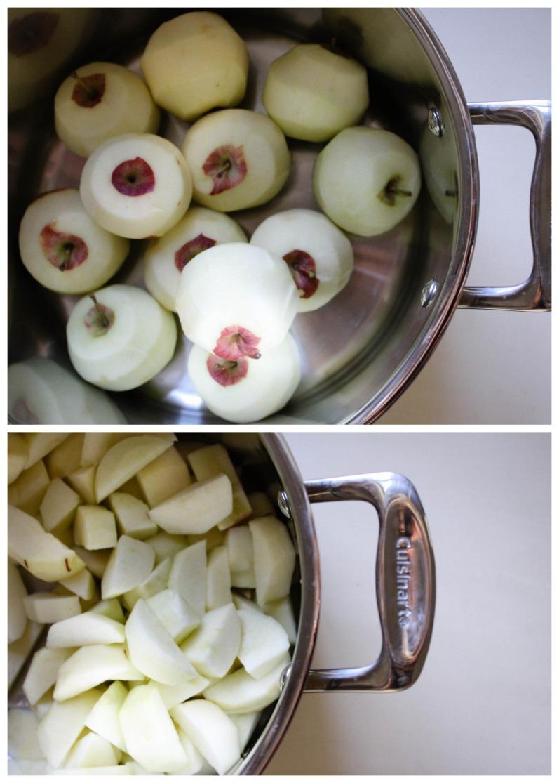 Homemade applesauce l our sweet somewhere.jpg