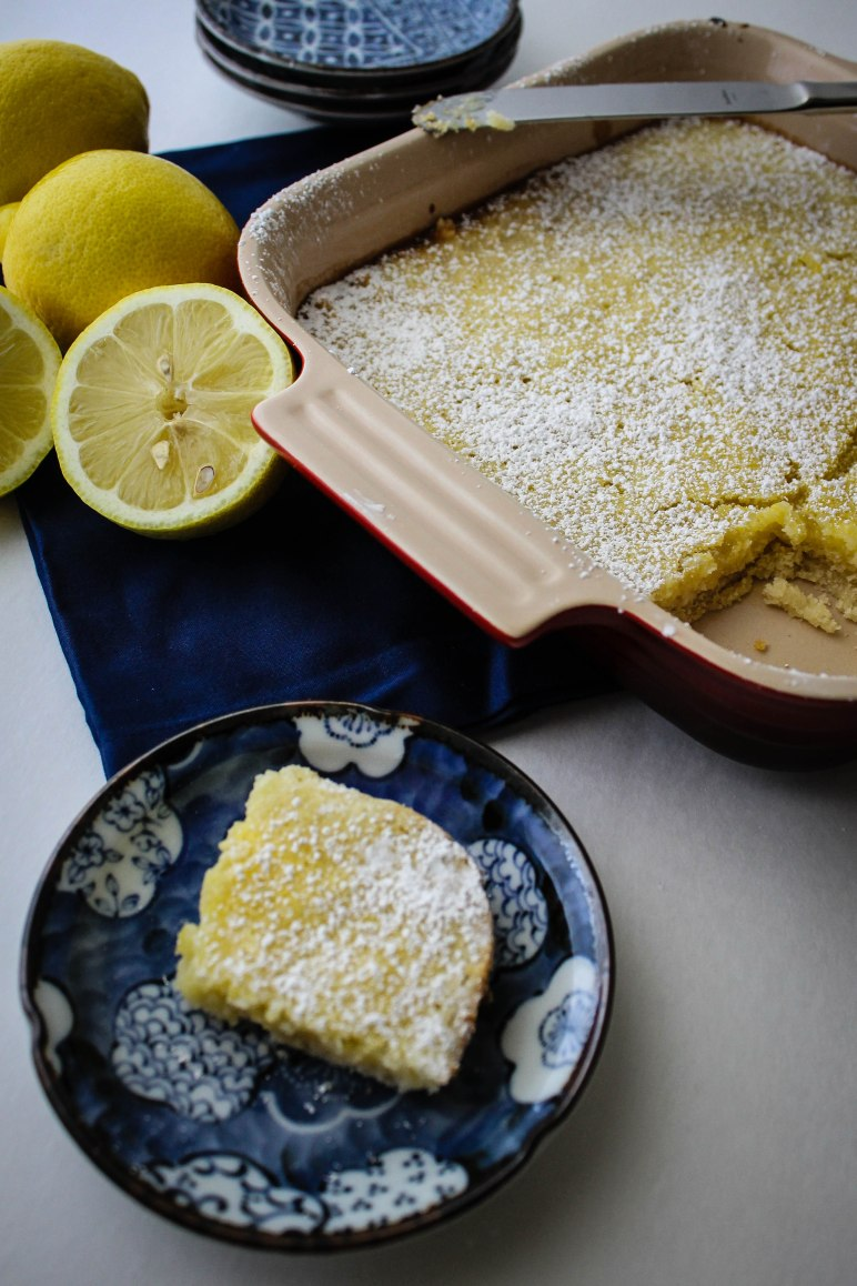 Yummy springtime lemon bars l Our Sweet Somewhere