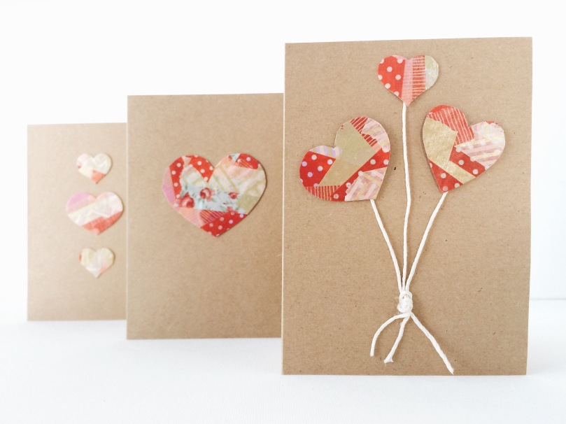 WASHI TAPE VALENTINE'S DAY CARDS | OUR SWEET SOMEWHERE