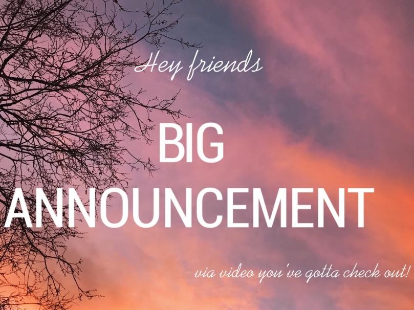 Big Announcement.OSS